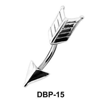 Arrow Styled Belly Piercing DBP-15