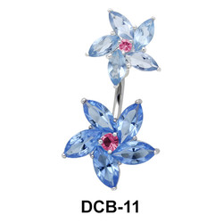 Beautiful Blossom Belly Piercing DCB-11