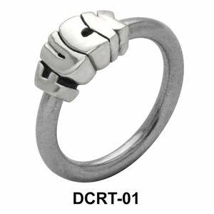 Fuck Belly Piercing Closure Ring DCRT-01
