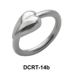 Big Star Belly Piercing Closure Ring DCRT-14b