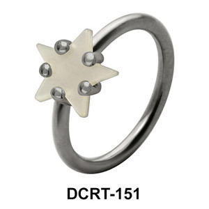 Twinkling Star Belly Pearl Piercing DCRT-151