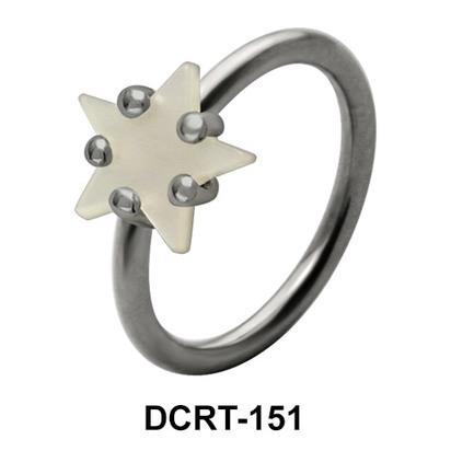 Twinkling Star Belly Pearl Piercing DCRT-151