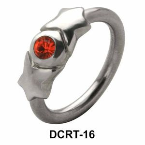 Stone Holding Belly Piercing Closure Ring DCRT-16