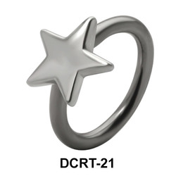 Star Shaped Belly Piercing DCRT-21