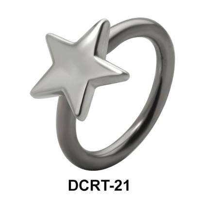 Star Shaped Belly Piercing DCRT-21