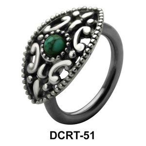 Intricate Design Filigree Belly Piercing DCRT-51