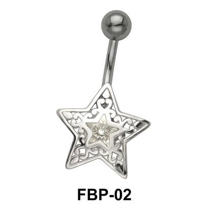 Filigree Star Belly Piercing FBP-02