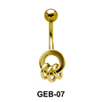 Multiple Rings Belly Rings GEB-07