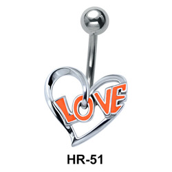Love within Heart Shaped HR-51
