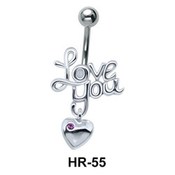 Love You with Heart Shaped HR-55