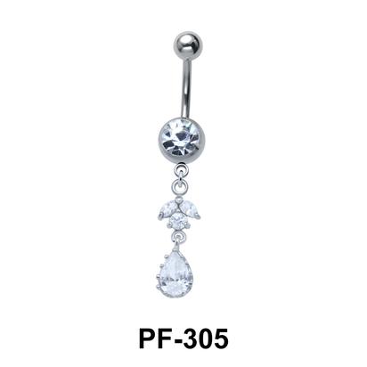 Dangling Belly Piercing PF-305