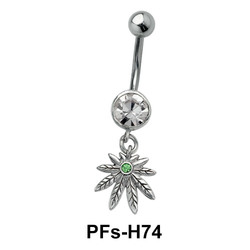 Belly Piercing Dangling PFs-H74