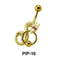 Upper Belly Piercing PIP-16