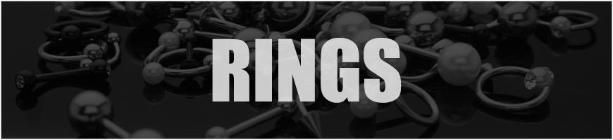 RINGS DESIGN BELLY BARS