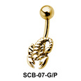 Scorpion Attractive Belly Piercing SCB-07