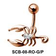 Scorpion Alluring Belly Piercing SCB-08