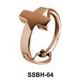 Cross Belly Huggie SSBH-04