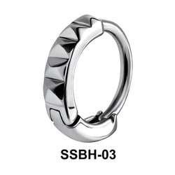 Wavy Ring Belly Huggie SSBH-03