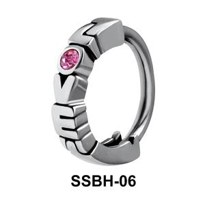 Stone Set Love Belly Huggie SSBH-06