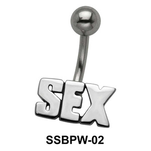 Sex Script Belly Button Piercing SSBPW-02