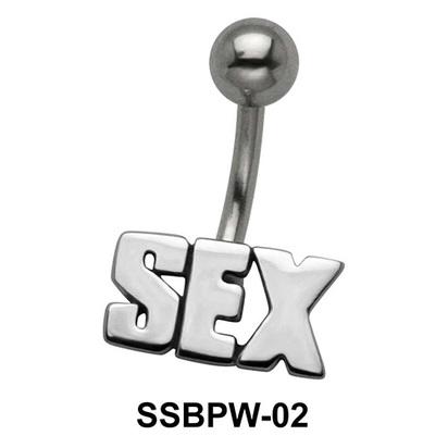 Sex Script Belly Button Piercing SSBPW-02