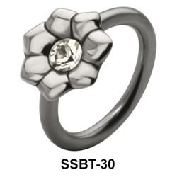 Flower Shaped Belly Piercing SSBT-30