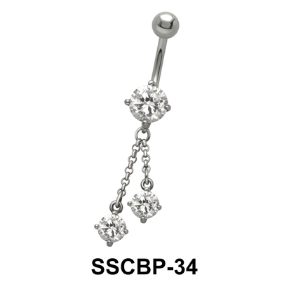 Cool Clubs Belly Piercing SSCBP-34