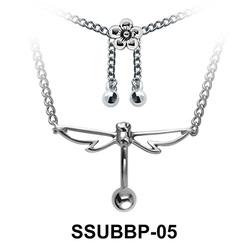 Belly Piercing Chain SSUBBP-05