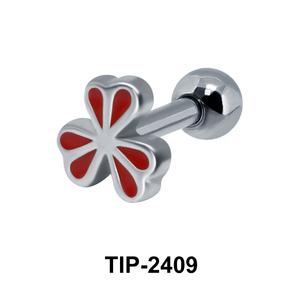 Beautiful Flower Enamel Ear Piercing TIP-2409