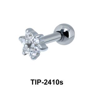 Beautiful Flower Ear Piercing TIP-2410s