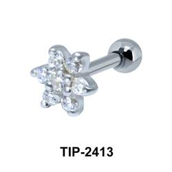 Flower Helix Ear Piercing TIP-2413