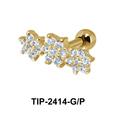 Flower Helix Ear Piercing TIP-2414