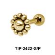 Flower Helix Ear Piercing TIP-2422