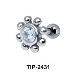Flower Helix Ear Piercing TIP-2431