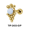 Turquoise Helix Ear Piercing TIP-2433
