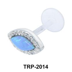 Pear Stone Tragus Piercing TRP-2014