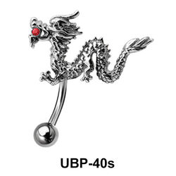 Dragon Upper Belly Piercing UBP-40s