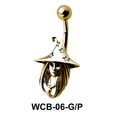 Witch Face Fascinating Belly Piercing WCB-06