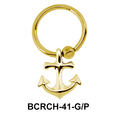 Anchor Shaped Closure Rings Charm BCRCH-41