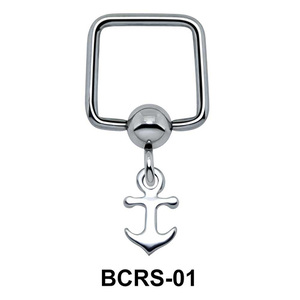 Anchor Shaped Helix Ear Piercing BCRS-01