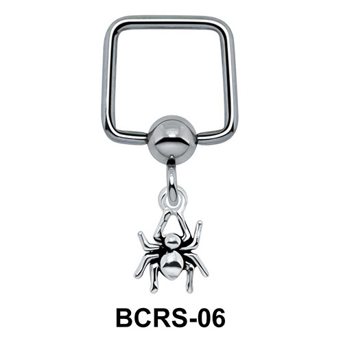 Spider Shaped Helix Ear Piercing BCRS-06