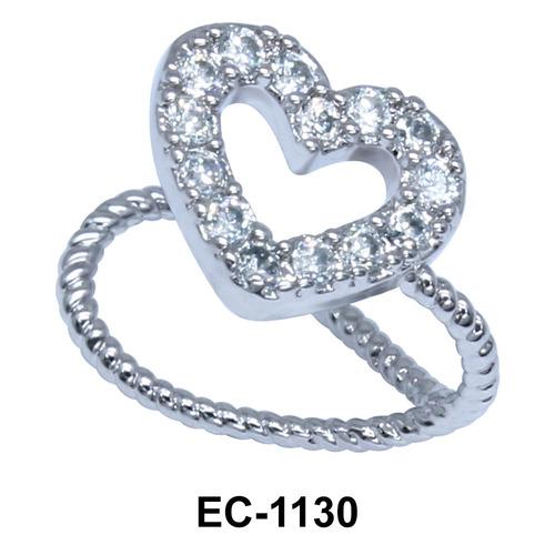 Ear Clips Heart Shape EC-1130