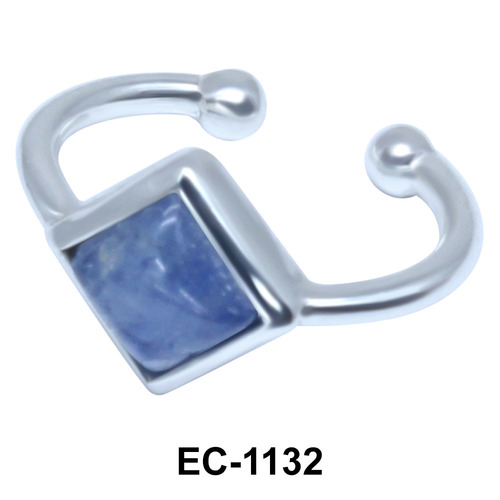 Square Shape Ear Clips EC-1132