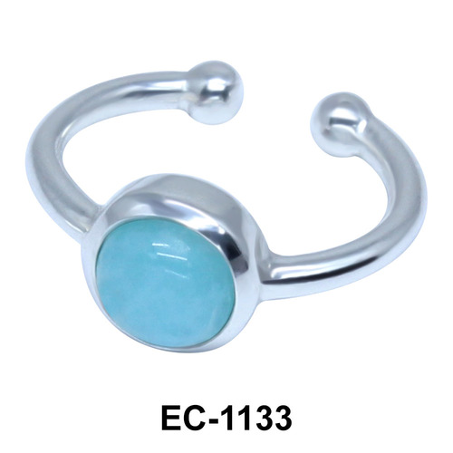 Circle Shape Ear Clips EC-1133