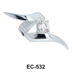 Lightning Shaped Ear Clips EC-532