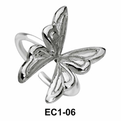 Butterfly Ear Clips EC1-06