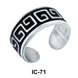 Antique Design Ear Clips IC-71