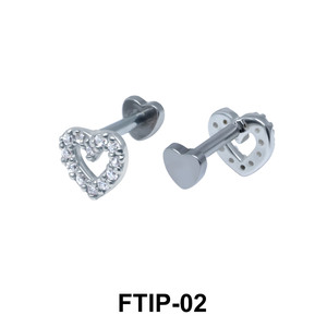 Romantic Passion Helix Ear Piercing FTIP-02