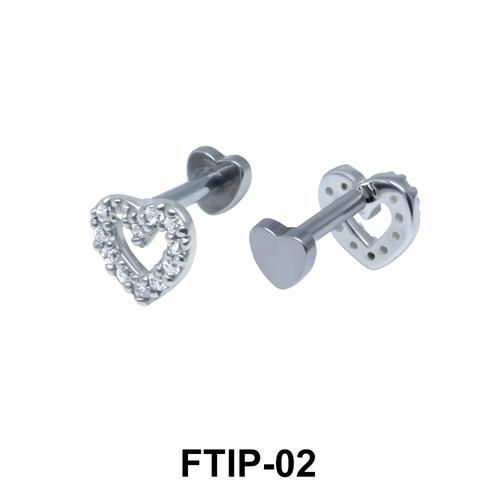 Romantic Passion Helix Ear Piercing FTIP-02