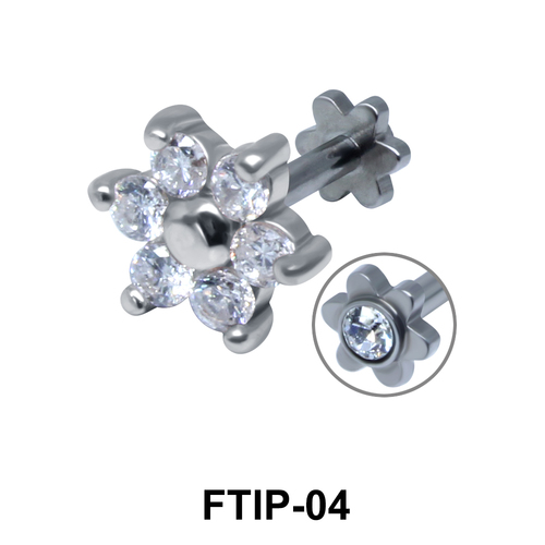 Romantic Passion Helix Ear Piercing FTIP-04
